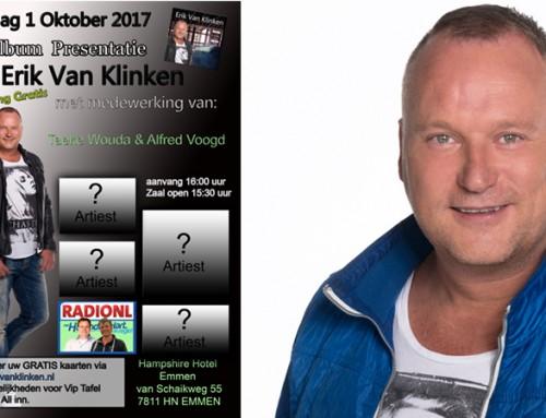 Album presentatie Erik van Klinken