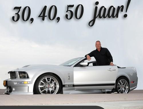Erik van Klinken maakt als 50 plusser er nog steeds één groot feest van.